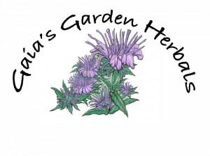 gaias garden herbals logo by Wolf