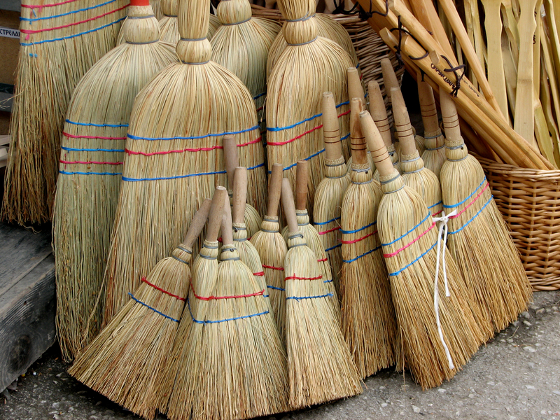 Brooms making is a time-honored tradition to celebrate and preserve. Photo by Vladislav, Dreamstime Stock Image.