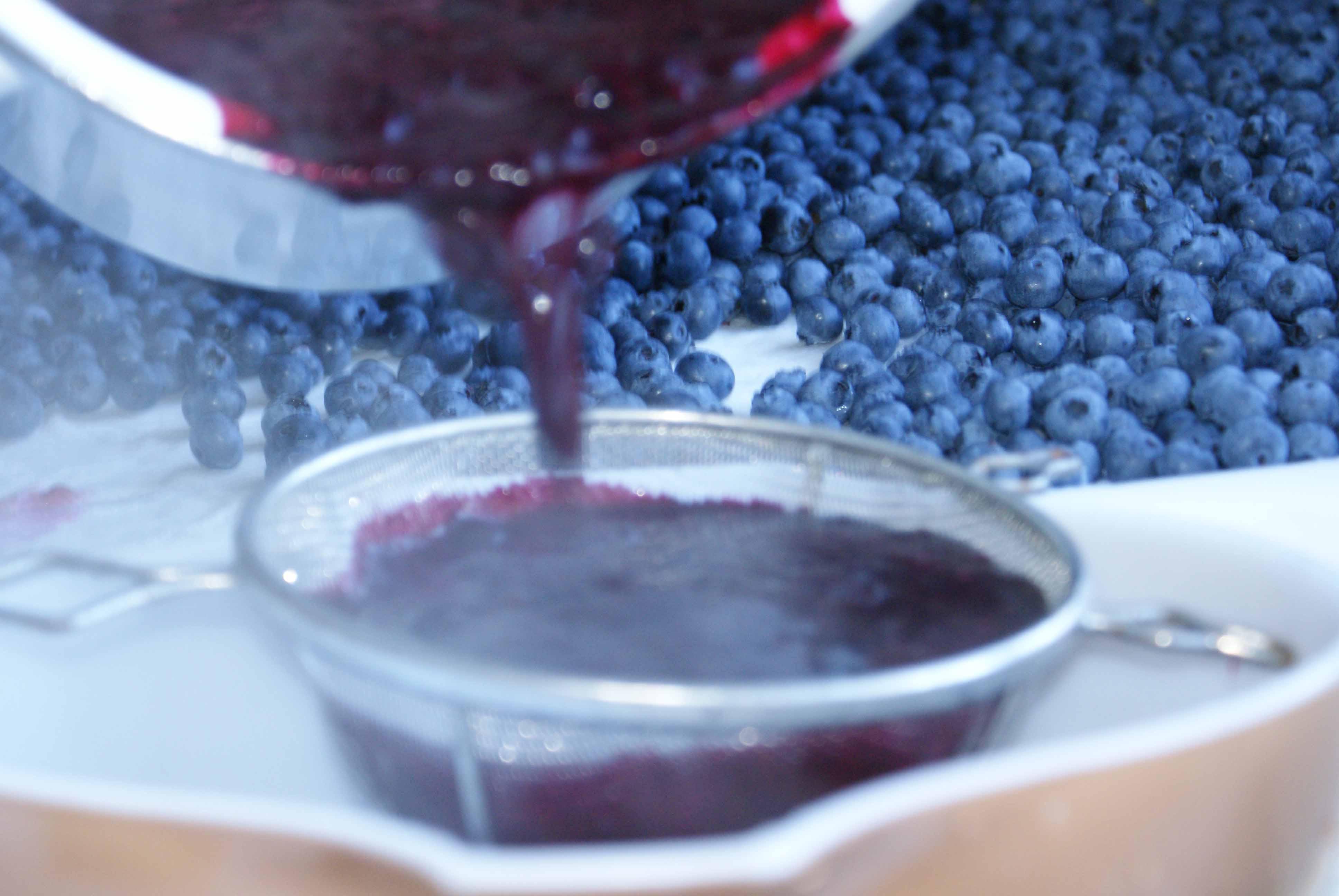 Oregon blueberries.